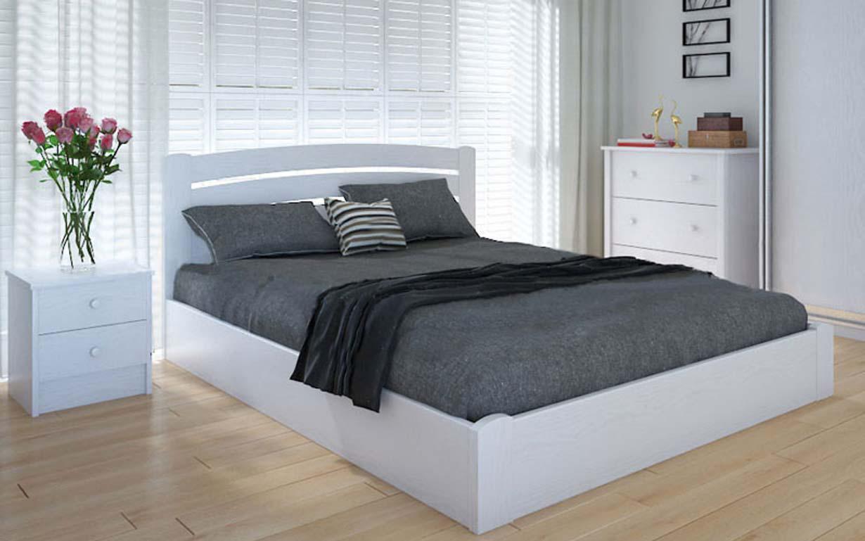 Деревянная кровать Грин с механизмом 90х190 см ТМ Meblikoff