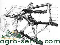 Гидро-навесная система Т-150, ХТЗ