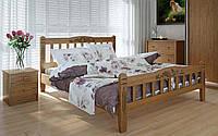 Деревянная кровать Луизиана люкс 140х190 см. Meblikoff