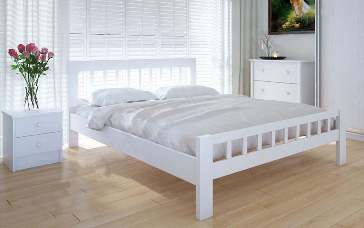 Деревянная кровать Луизиана 90х190 см ТМ Meblikoff