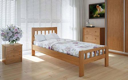 Деревянная кровать Луизиана 90х190 см ТМ Meblikoff, фото 2