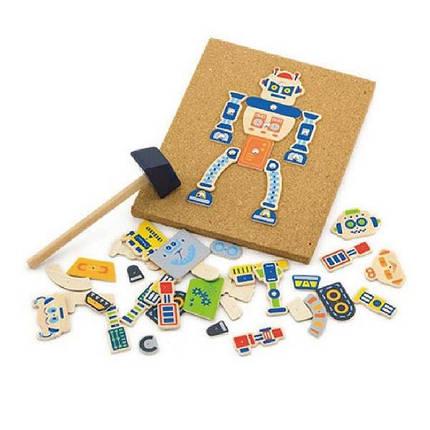 "Набор для творчества Viga Toys ""Робот"" (50335), фото 2"