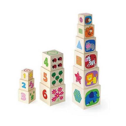 """Игрушка Viga Toys """"Кубики"""" (50392), фото 2"""