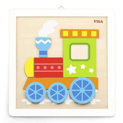 """Набор для творчества  Viga Toys """"Своими руками. Паровозик"""" (50686), фото 2"""