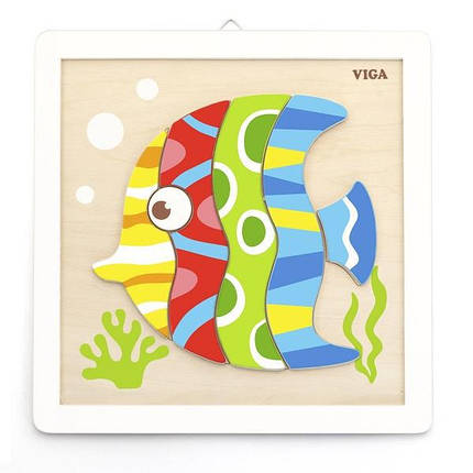 "Набор для творчества  Viga Toys ""Своими руками. Рыбка"" (50687), фото 2"