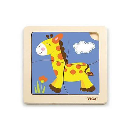 "Пазл Viga Toys ""Жираф"" (51319), фото 2"