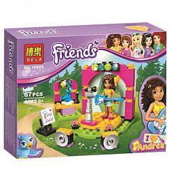 "Конструктор Bela Friends 10605 ""Музыкальный дуэт Андреа"" 87 деталей. Аналог Lego 41309"
