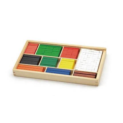 """Набор для обучения Viga Toys """"Математические блоки"""" (56166), фото 2"""