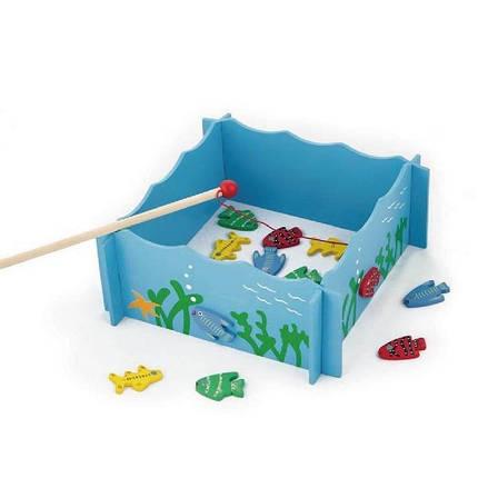 """Игровой набор Viga Toys """"Рыбалка"""" (56305), фото 2"""