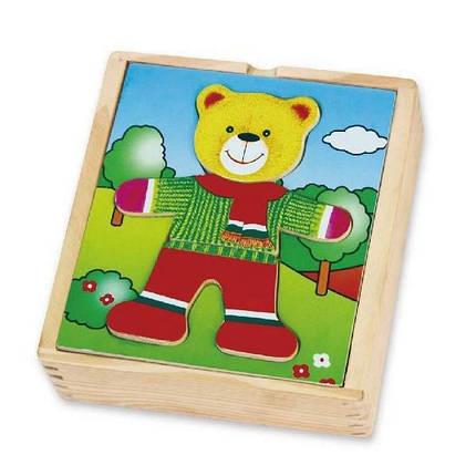 """Игровой набор Viga Toys """"Гардероб медведя"""" (56401), фото 2"""