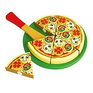 """Игровой набор Viga Toys """"Пицца"""" (58500)"""