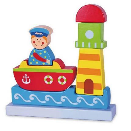 "Магнитный пазл Viga Toys ""Море"" (59704), фото 2"