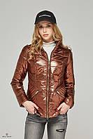 Короткая женская куртка в 6ти цветах К-63 металлик, фото 1