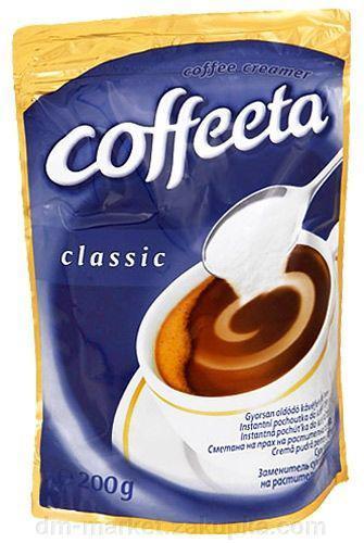 Coffeeta Classic сухі вершки 200 гр.
