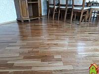 Паркетна Дошка Focus Floor Дуб Blanco Prime Лак Трьохполосна