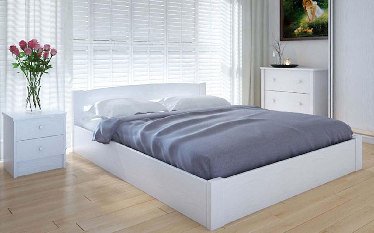 Деревянная кровать Скай с механизмом 90х190 см ТМ Meblikoff
