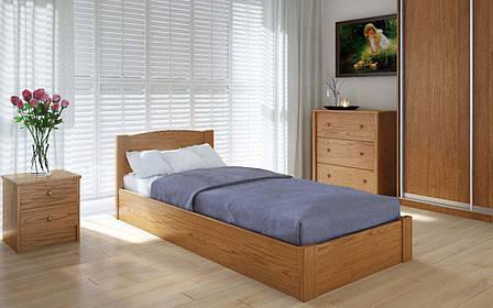 Деревянная кровать Скай с механизмом 90х190 см ТМ Meblikoff, фото 2
