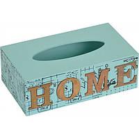 "Шкатулка для салфеток ""Home"" PR57 8*24*14см MDF"