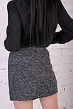 Женская юбка букле на молнии, фото 2