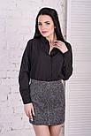 Женская юбка букле на молнии, фото 4