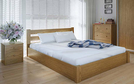 Деревянная кровать Эко с механизмом 90х190 см ТМ Meblikoff, фото 2