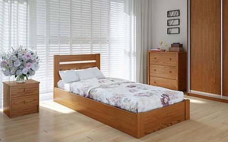 Деревянная кровать Эко плюс с механизмом 90х190 см ТМ Meblikoff, фото 2