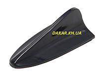 Автомобильная антенна обманка муляж Акулий плавник v1 чёрная