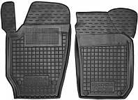 Полиуретановые передние коврики в салон Skoda Fabia II (5J) 2007-2014 (AVTO-GUMM)