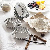 Набор формочек для кексов d 9 см, 6 шт от SNB