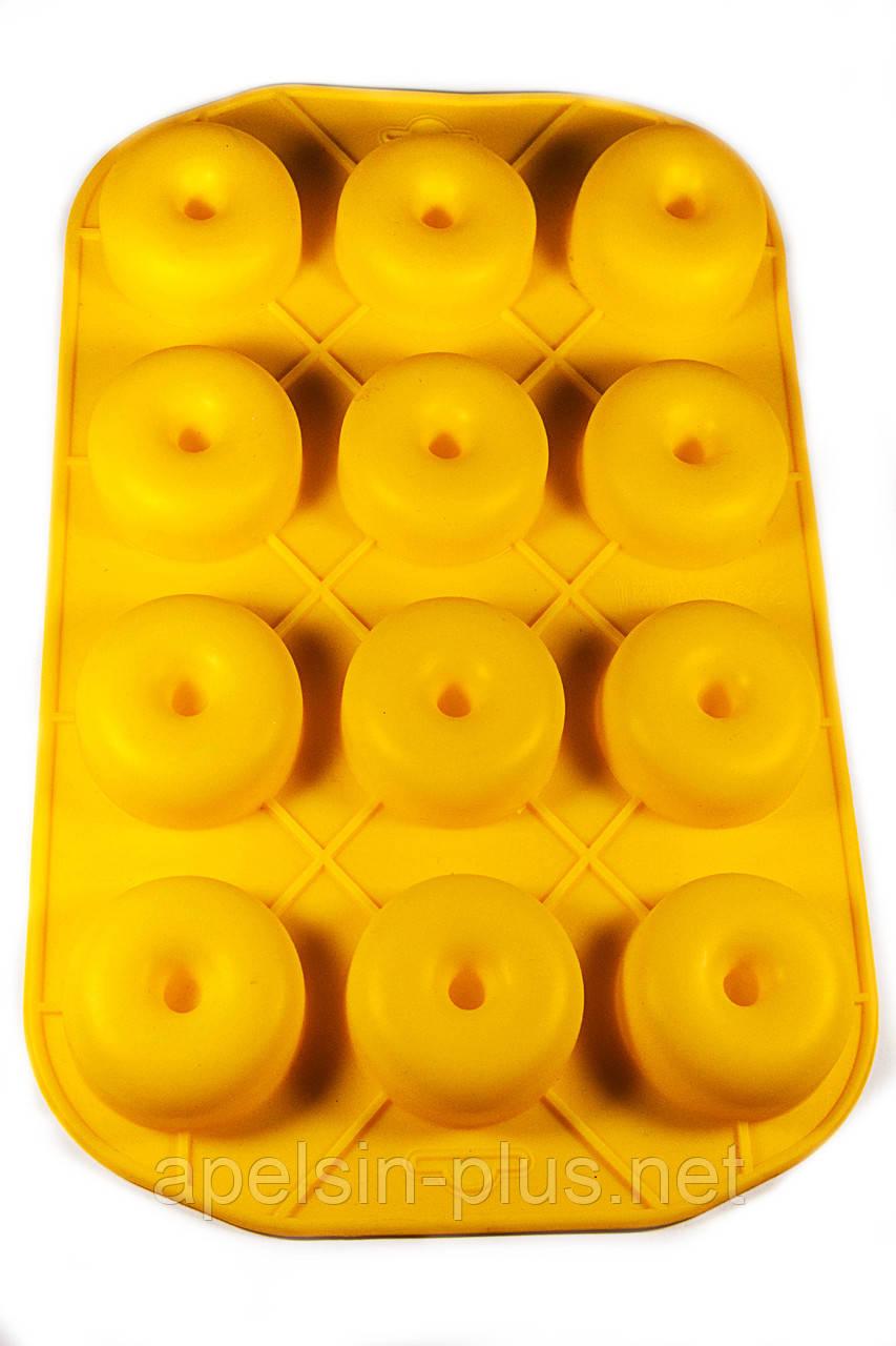 Силиконовая форма для Пончиков и Донатов на 12 ячеек