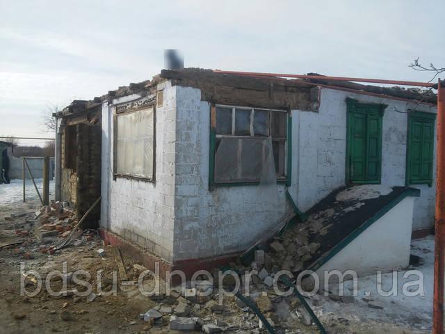 Разборка крыши дома