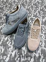 Слипоны женские Mihael Cors кожа/обувной войлок цвета разные 0012ТОП