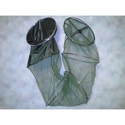 Садок рыболовный Kaida 2.7 м , d=0.45 м,  латексное покрытие сетки ,добротный садок для большого улова