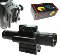 Оптический прицел 4х25 E RangeFinder с целеуказателем