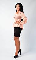 Интересная блуза баской, фото 1