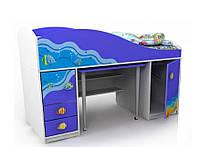 Кровать-чердак Od-40-1 Ocean
