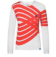 100% Оригинал Женский реглан лонгслив размер М с принтом Nike с длинным рукавом для активного отдыха белый