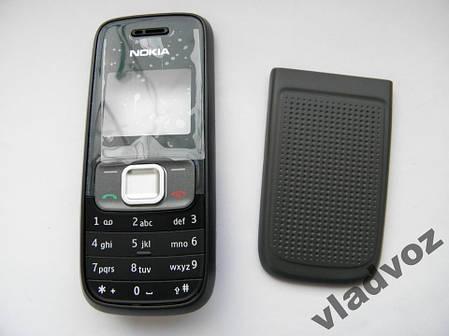 Корпус для Nokia 1209 чёрный с клавиатурой AAA, фото 2