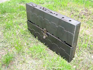 Мангал розбірний для відпочинку 2 мм ,Україна 6 шампурів