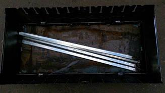 Мангал розбірний для відпочинку 2 мм ,Україна 12 шампурів