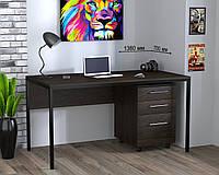 Стол офисный L-3p в стиле Loft, цвет Венге корсика