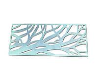 Декоративная плазменная резка металла «Ветви дерева»