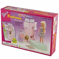 Мебель для куклы Ванная комната Gloria 21013