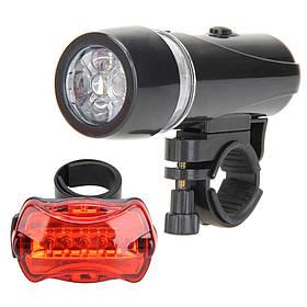 Велосипедный набор Фара фонарь 2 шт