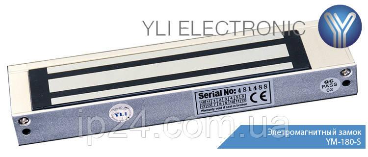 Электромагнитный замок YM-180-S накладной