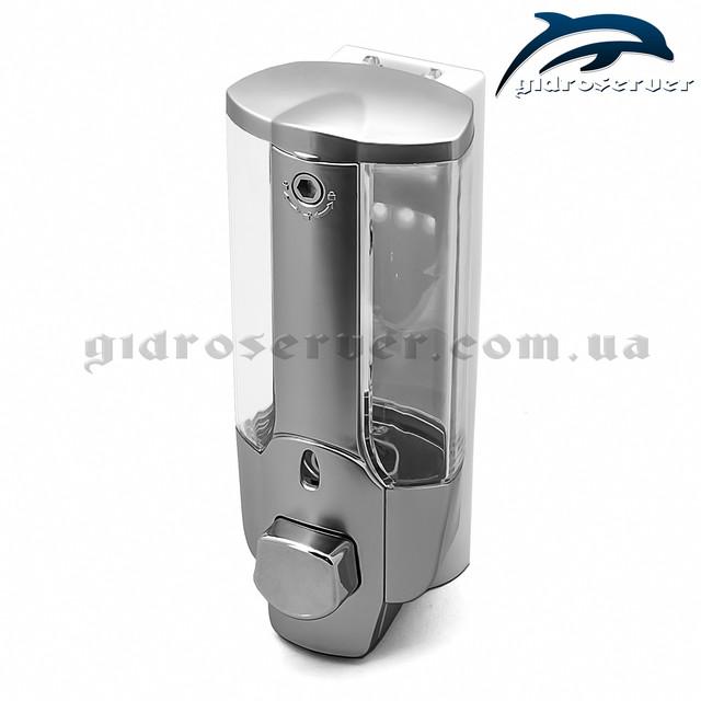 Универсальный дозатор жидкого мыла для душевой кабины, гидромассажного бокса DZ-01.