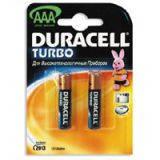 Батарейка Duracell Turbo AAA MN2400 LR03 * 2 (81417112)