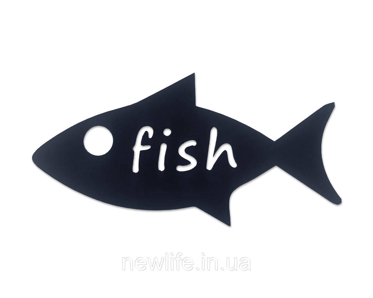 Декоративный раскрой листового металла «Fish»