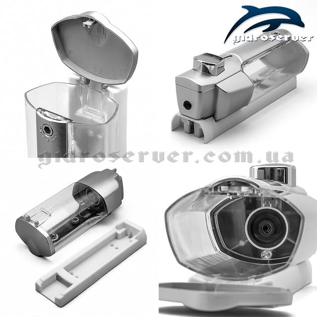 Дозатор для жидкого мыла в панель душевой кабины, гидробокса DZ-01.