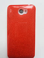 Силиконовая накладка Gliter для MEIZU M3/M3s (Red), фото 1